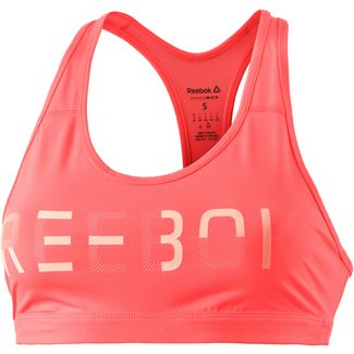 Reebok Workout Ready Sport-BH Damen guava punch