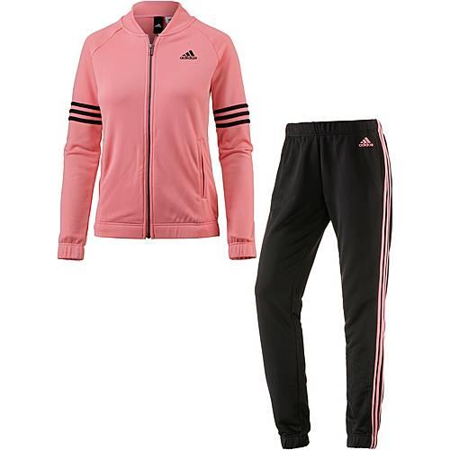 adidas Cosy Trainingsanzug Damen tactile rose f17-black