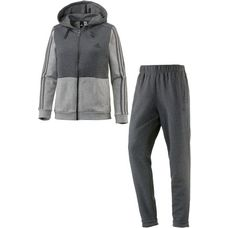adidas Energize Trainingsanzug Damen dark grey heather-medium grey heather