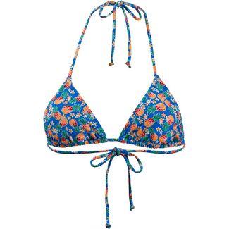 Maui Wowie Bikini Oberteil Damen blau/ gelb