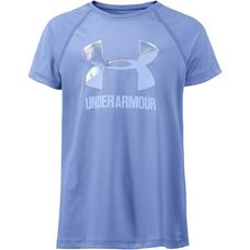 Under Armour Solid Big Logo SS T Funktionsshirt Kinder talc blue