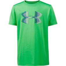 Under Armour Big Logo Solid Tee Funktionsshirt Kinder arena green