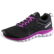 Reebok Sublite XT Fitnessschuhe Damen coal-vicious violet-white-pewter