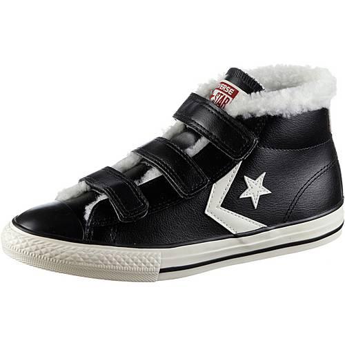 CONVERSE Sneaker Kinder black-egret-terra-red