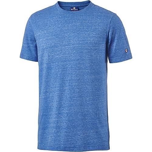 CHAMPION T-Shirt Herren blue melange