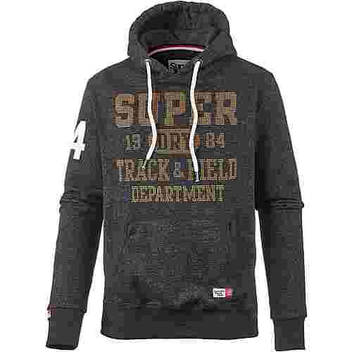 Superdry Hoodie Herren black field grit