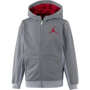 Nike Jordan Kapuzenjacke Kinder wol grey