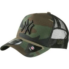 New Era Trucker New York Yankees Cap woodland camo