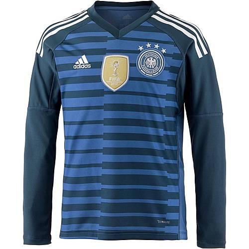 adidas DFB WM 2018 Heim Torwarttrikot Kinder traceroya/subblue/white