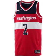Nike JOHN WALL WASHINGTON WIZARDS Basketball Trikot Herren UNIVERSITY RED/COLLEGE NAVY/WHITE