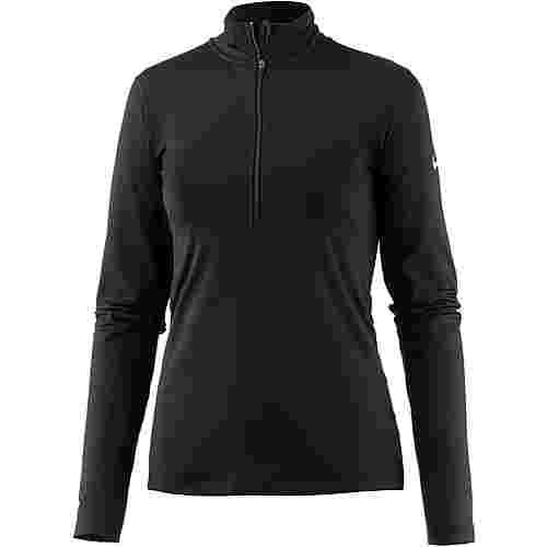 Nike Pro Dry Fit Langarmshirt Damen black-white