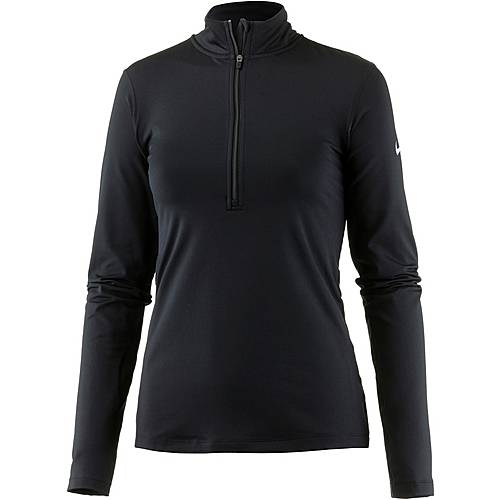 Nike Pro Dry Fit Langarmshirt Damen black-white