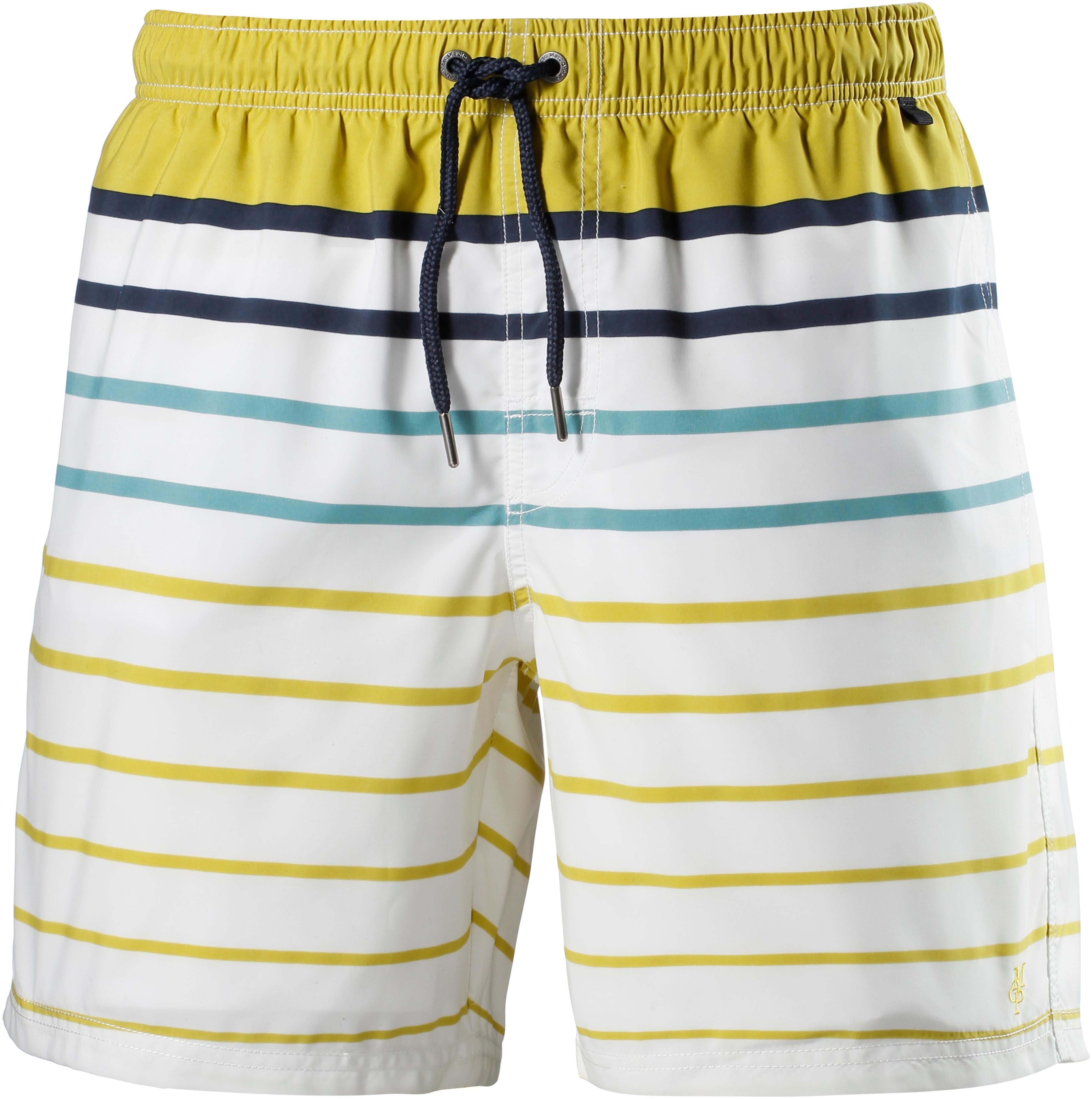 7e231c8e181086 Marc O'Polo Badeshorts Herren weiß-gelb im Online Shop von SportScheck  kaufen