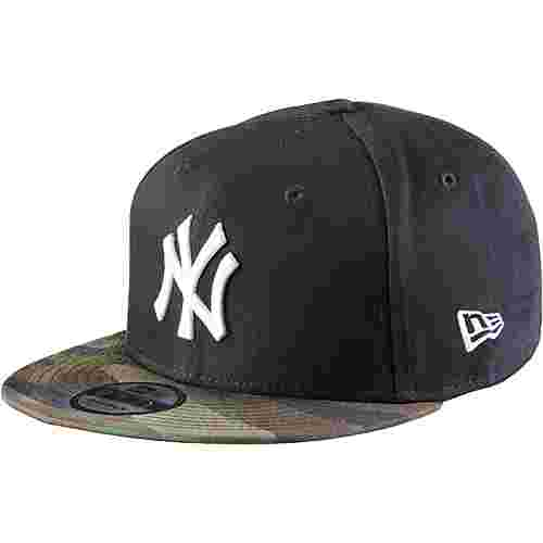 New Era 9FIFTY New York Yankees Cap navy-woodland camo