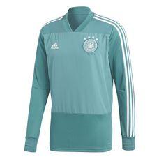 adidas DFB Trainingsoberteil Fußballtrikot Herren Turquoise/Eqt Green/White