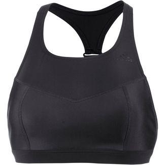 adidas Bikini Oberteil Damen schwarz