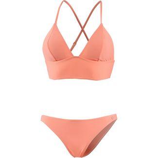 Maui Wowie Bikini Set Damen apricot