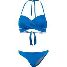 Maui Wowie Bandeau Bikini Damen blau