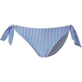 Tommy Hilfiger Seersucker Bikini Hose Damen silver lake blue