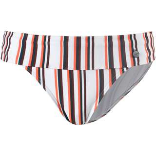 Beachlife Bikini Hose Damen weiß-grün-orange