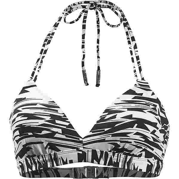 Beachlife Bikini Oberteil Damen weiß-schwarz