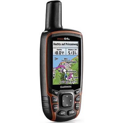 Garmin map64s GPS grün/orange
