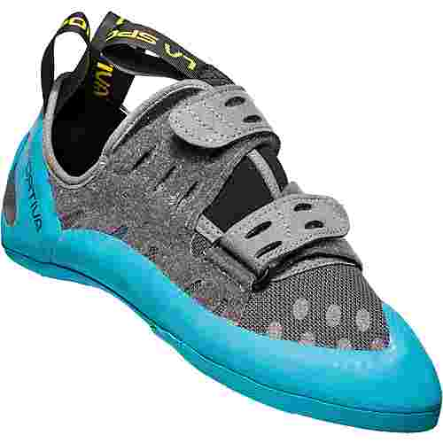 La Sportiva Geckogym Kletterschuhe Herren carbon-tropic blue