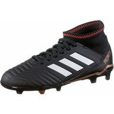 adidas PREDATOR 18.3 FG J Fußballschuhe Kinder core black