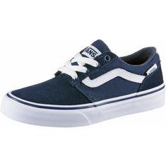 Vans Chapman Stripe Sneaker Kinder dress blues-white