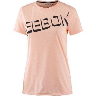 Reebok Workout Ready T-Shirt Damen peach twist mel