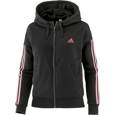 adidas Essential Sweatjacke Damen black-tactile rose f17