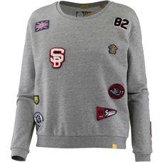 Superdry Sweatshirt Damen Legacy Grey Grindle