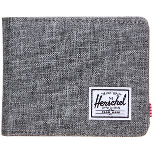 Herschel WALLET ROY COIN Geldbeutel raven Crosshatch