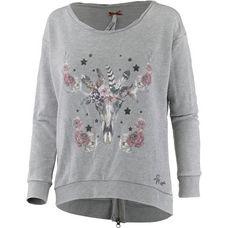 Mogul Sweatshirt Damen grey melange