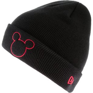 New Era Mickey Mouse Beanie Kinder black-scarlet