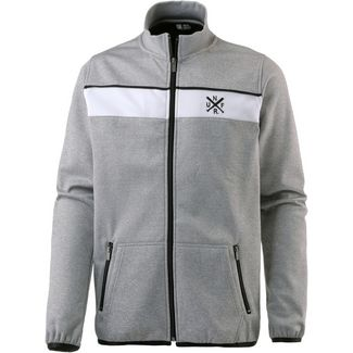 Unfair Athletics Fleecejacke Herren heather grey-white