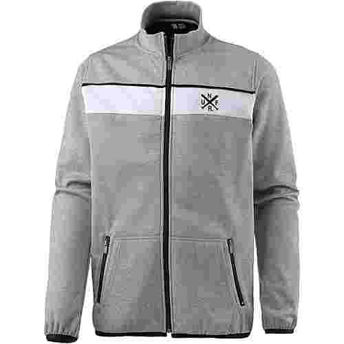 Unfair Athletics Jacke Herren heather grey-white