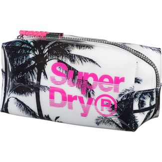Superdry Federmäppchen Damen Pink Photo Palm