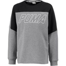 PUMA Sweatshirt Kinder medium gray heather