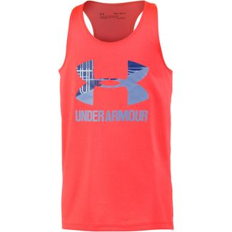 Under Armour Big Logo Slash Tank Tanktop Kinder penta pink