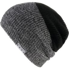 Neff Duo Beanie black heather-black