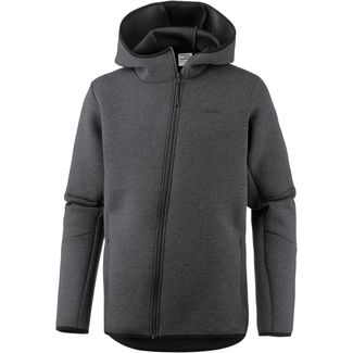 CORE by JACK & JONES Kapuzenjacke Herren dark grey melange