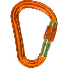 Climbing Technology Warlock HMS Karabiner orange-green gate