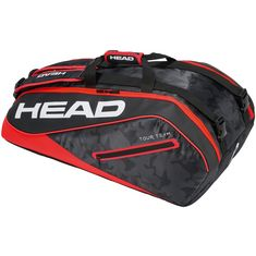 HEAD Tour Team 9R Supercombi Tennistasche black-red