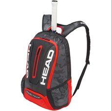 HEAD Tour Team Backpack Tennisrucksack black-red