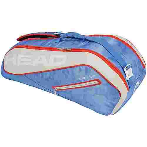 HEAD Tour Team 6R Combi Tennistasche blau-beige