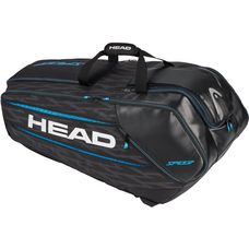 HEAD Speed Blue 12R Monstercombi Tennistasche schwarz-blau
