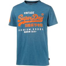 Superdry T-Shirt Herren frontier teal