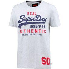 Superdry Printshirt Herren ice marl