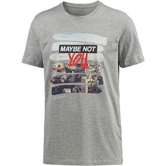 CORE by JACK & JONES T-Shirt Herren light grey melange